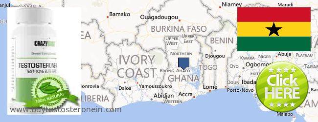 Jälleenmyyjät Testosterone verkossa Ghana