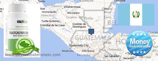 Jälleenmyyjät Testosterone verkossa Guatemala